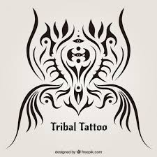 tribal tattoo design vector premium download