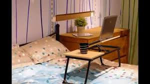 Bed Desk For Laptop Bedding Prepossessing 100 Bamboo Adjustable Laptop Table Computer
