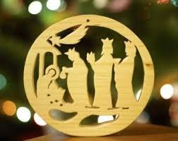 wooden nativity christmas candleholder christmas tree toys