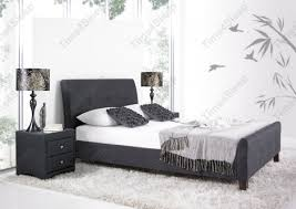 Tufted Sleigh Bed Bed Frames Wallpaper Hd Tufted Upholstered Bed King King