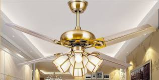 48 Inch Ceiling Fan With Light European Antique Simple Fashion Fan Chandelier Fan Light Modern