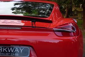porsche cayman red porsche cayman 3 4 s pdk 981 coupe