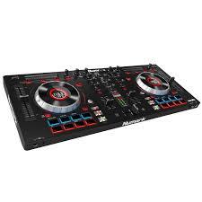 numark mixtrack platinum dj controller with m audio bx5 carbon