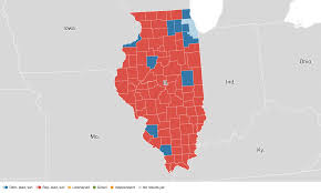 2016 Presidential Election Map by Illinois Election Results 2016 Live Maps Polling Analysis
