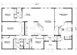 4 Bedroom 2 Bath Mobile Homes Best 25 Mobile Home Floor Plans Ideas On Pinterest Modular Home