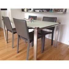 BoConcept Black Dining Table W  Chairs SoHo Apartment Pinterest - Room and board dining tables