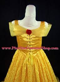 deluxe belle halloween costume plus size and super size