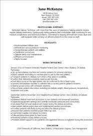 Slot Technician Resume Hemodialysis Technician Cover Letter