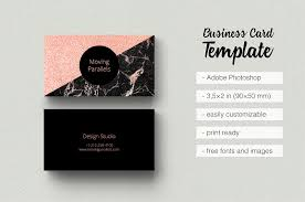 rose gold marble business card business card templates
