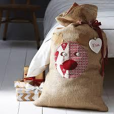 personalised rudolph santa sack by santa sacks
