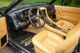 ferrari yellow interior ferrari 412 1986 welcome to classicargarage