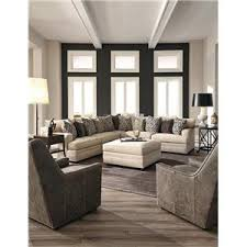 Modern Sectional Sofa With Chaise Huntington House 7100 Contemporary U Shape Sectional Sofa With