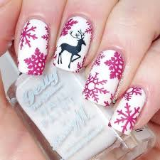 50 festive christmas nail art designs u2013 bowie news
