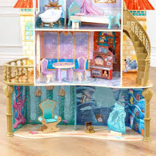Barbie Princess Bedroom by Disney Princess Ariel Land To Sea Castle Dollhouse