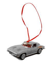 mint 1963 corvette sting ornament