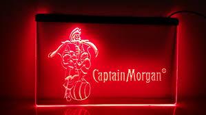 captain morgan neon bar light buy captain morgan spiced rum and get free shipping on aliexpress com