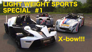 lexus bow lightweight sports special 1 ktm x bow best motoring 2010