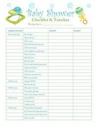 list of baby shower free printable baby shower checklist paste the link below
