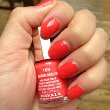 mavala nail polish in waikiki orange review paperblog