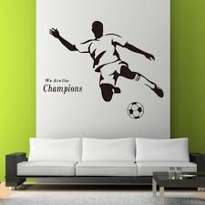 compare prices on champion quotes online shopping buy low price football boy sports home decals wall stickers 8257 for kids room vinyl art mural we are