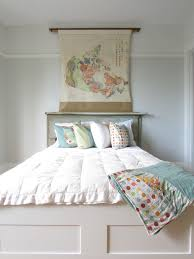 michael amini bedding in bedroom shabby chic with light green