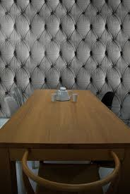 padded cell wallpaper chesterfield button back wallpaper designed