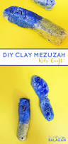 this adorable diy clay mezuzah craft for kids is a cool jewish