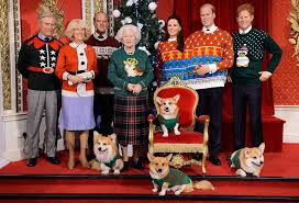 the royal family gets an ugly sweater makeover for christmas at