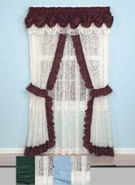 Ruffled Priscilla Curtains Lace Priscilla Curtains And Panels Carolwrightgifts Com