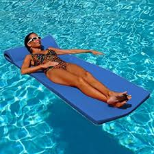 amazon pool floats amazon com texas recreation sunsation foam mattress swimming pool