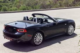 fiat spider vs miata 2017 fiat 124 spider everything you want to know the fast lane car