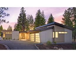 contemporary modern house modern courtyard home uses passive solar design hwbdo77110