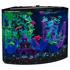 amazon pet supplies black friday amazon com glofish 29045 aquarium kit with blue led light 5