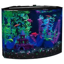 amazon black friday pet sales amazon com glofish 29045 aquarium kit with blue led light 5