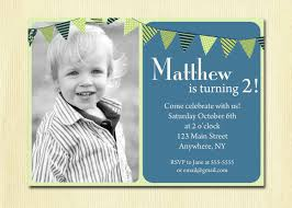 Invitation Cards For First Birthday First Birthday Baby Boy Invitation 1st 2nd 3rd 4th Birthday