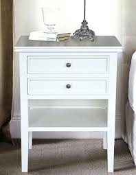 stunning white night stand table mid century nightstand white west