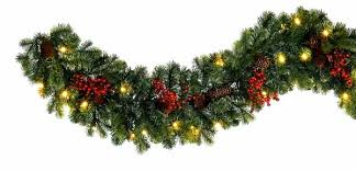 simple decoration garlands with lights 7 garland merry