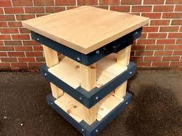 Kitchen Island Oak Solid Oak Top Pallet Butcher Block Style Kitchen Island Diy