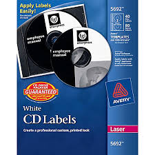 Avery Template 30 Labels Per Sheet Avery Permanent Laser Cddvd Labels Matte White Pack Of 40 By