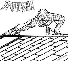 printable spiderman coloring pages kids cool2bkids comic