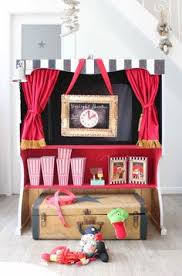 How To Make A Stage Curtain Easy Peasy Doorway Theatre Kids Can Do Puppet Shows Or Use As A