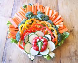 sorella style turkey veggie tray