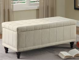 bench tufted storage ottoman bench solid wood storage bench