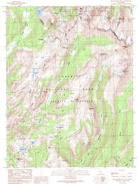 Yosemite Topo Map Matterhorn Peak Topographic Map Ca Usgs Topo Quad 38119a4