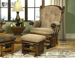 Walmart Rocking Chairs Nursery Glider Rocker With Ottoman Walmart Jessicastable Co