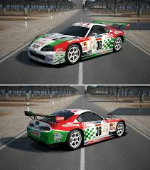 toyota car png image toyota castrol tom s supra 01 by gt6 garage d7eejwl png