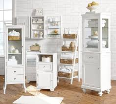 Pottery Barn Bathroom Ideas Bath Storage Modular Floor Storage Pottery Barn Duque Inn
