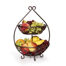 Decorative Fruit Bowl by 3 Tier Countertop Tower Fruit Stand And Possibly More Uses