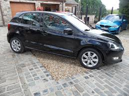volkswagen car black volkswagen polo 1 4 match a c 5 door alloys full vw s h aux ipod