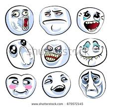 Cartoon Meme Faces - meme faces download free vector art stock graphics images